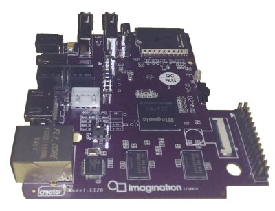 Imagination Technologies CI20 board